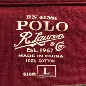Polo by Ralph Lauren Shirts - MEN'S POLO T-SHIRT WITH CHEST POCKET